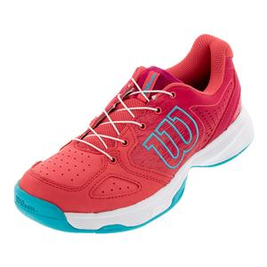 Juniors` Kaos QL Tennis Shoes Paradise Pink and White