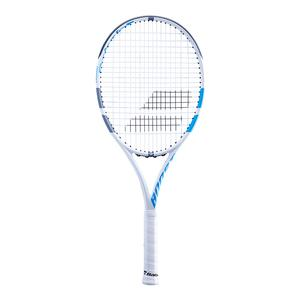 Boost D Prestrung White and Blue Tennis Racquet