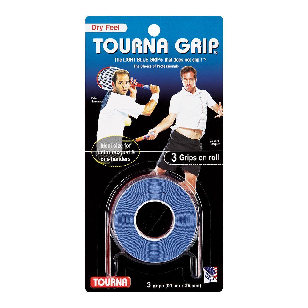 Tourna Grip 3 Grip Pack Blue