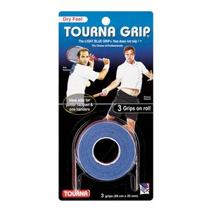 Tourna Grip 3 Grip Pack Blue