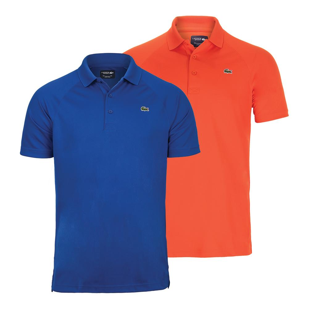 ed9389681 Lacoste Men`s Novak Djokovic Ultra Dry Raglan Tennis Polo