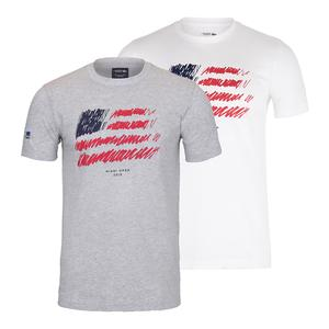 Men`s Miami Open Co Brand Americana Tennis Tee