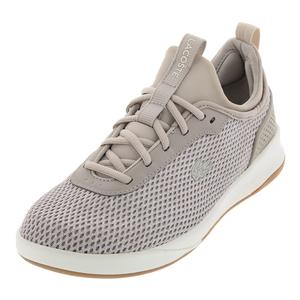 Women`s LT Spirit 2.0 Textile Sneakers Gray and Off White