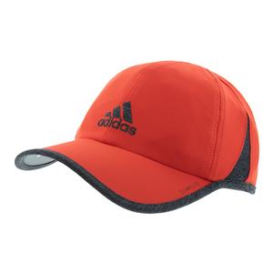 Men`s SuperLite Tennis Cap Active Red and Dark Heather Grey
