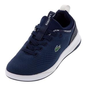 Women`s LT Spirit 2.0 Textile Sneakers Navy and White