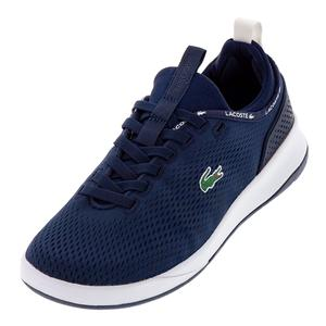 Men`s LT Spirit 2.0 Textile Sneakers Navy and White