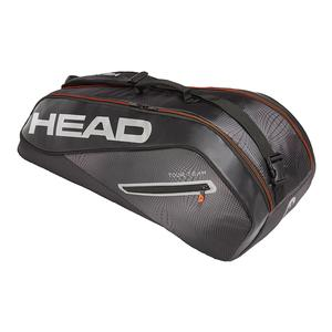 Tour Team 6R Combi Tennis Bag Black and Silver