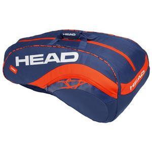 Radical 12R Monstercombi Tennis Bag Blue and Orange