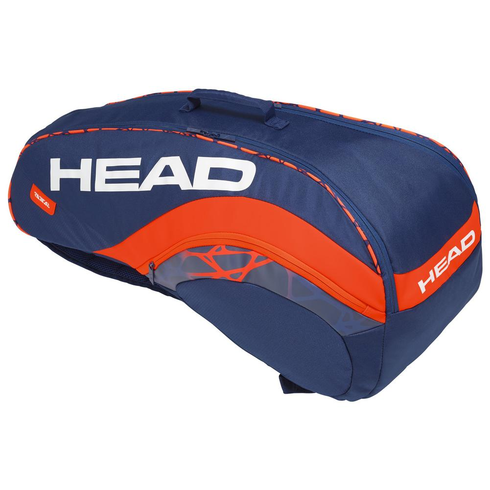 Radical 6r Combi Tennis Bag Blue And Orange