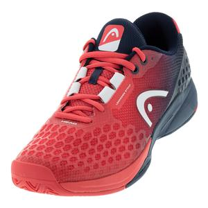 Men`s Revolt Pro 3.0 Tennis Shoes Red and Dark Blue