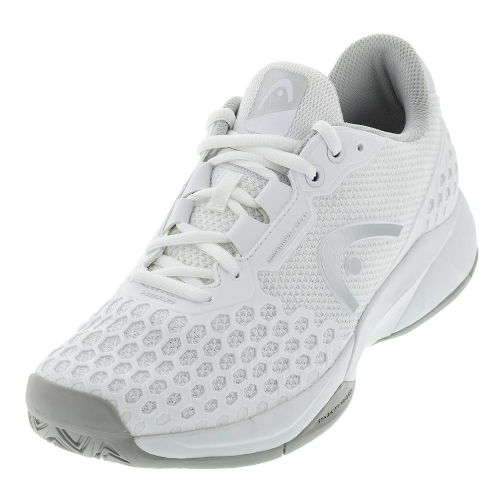 Women's Revolt Pro 3.0 Tennis Shoes White And Gray
