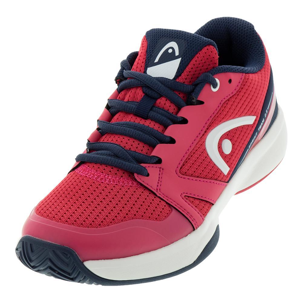 Women's Sprint Team 2.5 Tennis Shoes Magenta And Dark Blue