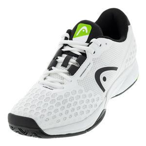 Men`s Revolt Pro 3.0 Tennis Shoes Black and White