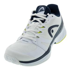Men`s Sprint Pro 2.5 Tennis Shoes White and Dark Blue