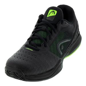 Men`s Revolt Team 3.0 Tennis Shoes Black and Green
