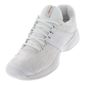 Men`s Propulse Fury All Court Wimbledon Tennis Shoes White