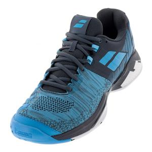 Men`s Propulse Blast Tennis Shoes Gray and Blue