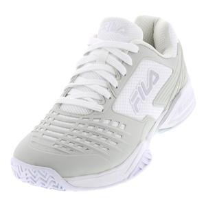 Women`s Axilus 2 Energized Tennis Shoes White and Silver