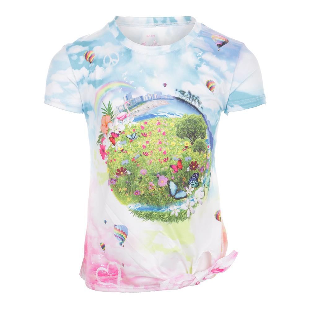 fb65d8ba9f7 Girls` Tie Knot Tennis Tee Fantasy. Product Details. She ll charm her  friends and competitors in the Lucky In Love ...
