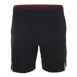 Men`s Bermuda Micro Tennis Short Black