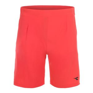 Men`s Bermuda Easy Tennis Short Ferrari Red