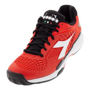 Men`s Speed Competition 5 Clay Tennis Shoes Grenadine and White