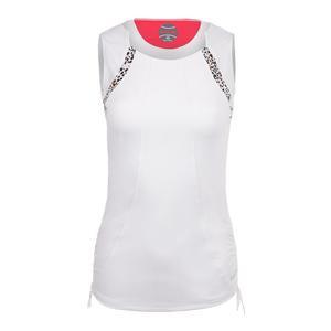 Women`s Safari Tennis Tank White