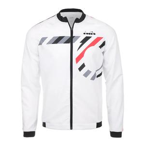 Men`s Tennis Jacket Optical White