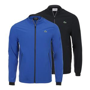 Men`s Novak Djokovic Solid Full Zip Tennis Jacket