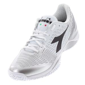 Women`s Speed Blushield 3 AG Tennis Shoes White and Silver