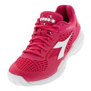 Women`s Speed Competition 5 Clay Tennis Shoes Virtual Pink and White