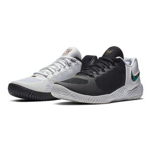 Women`s Flare 2 QS BHM Tennis Shoes Black and Lucid Green