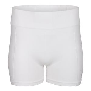 Women`s Smooth Tennis Shortie White