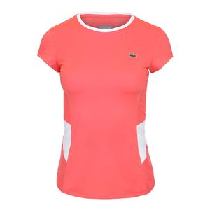 Women`s Performance Tennis Top Manguier and Blanc