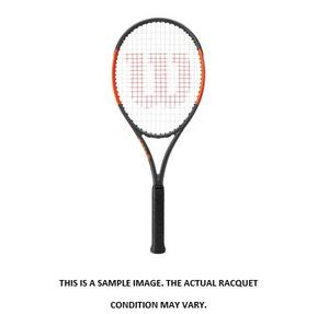 WILSON 2017 BURN 100 CV USED TENNIS RACQUET 4_3/8