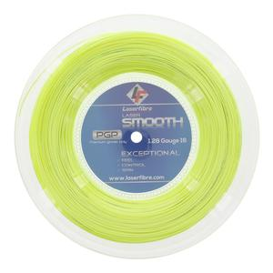 Laser Smooth 16G Tennis String Reel Optic Yellow