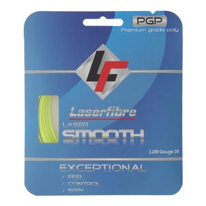 Laser Smooth 16G Tennis String Optic Yellow