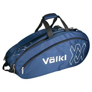 Team Combi Tennis Bag Navy and Silver