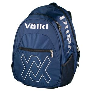 Team Tennis Backpack Navy and Silver