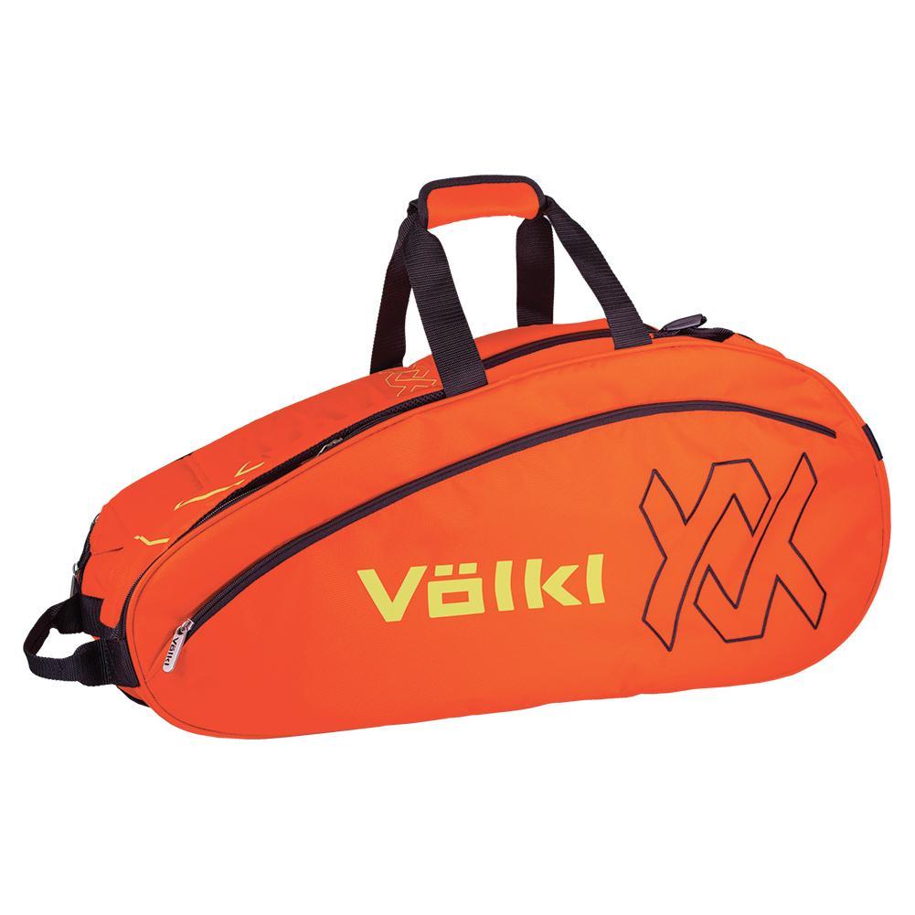 Team Combi Tennis Bag Lava And Neon Yellow