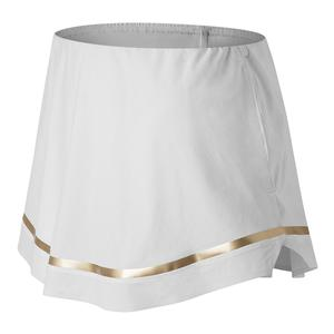 Women`s Tournament Tennis Skort White