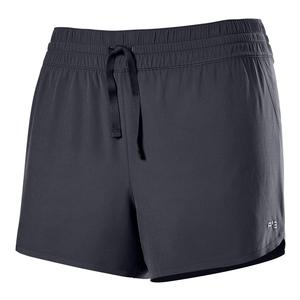 Women`s F2 Bonded 3.5 Inch Tennis Short Ebony