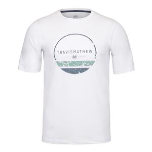 Men`s Collected Tennis Tee White