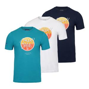 Men`s Miami Open Co Brand Graphic Tennis Tee