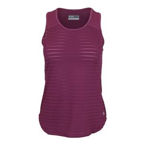 Women`s Studio Tennis Tank Dewberry