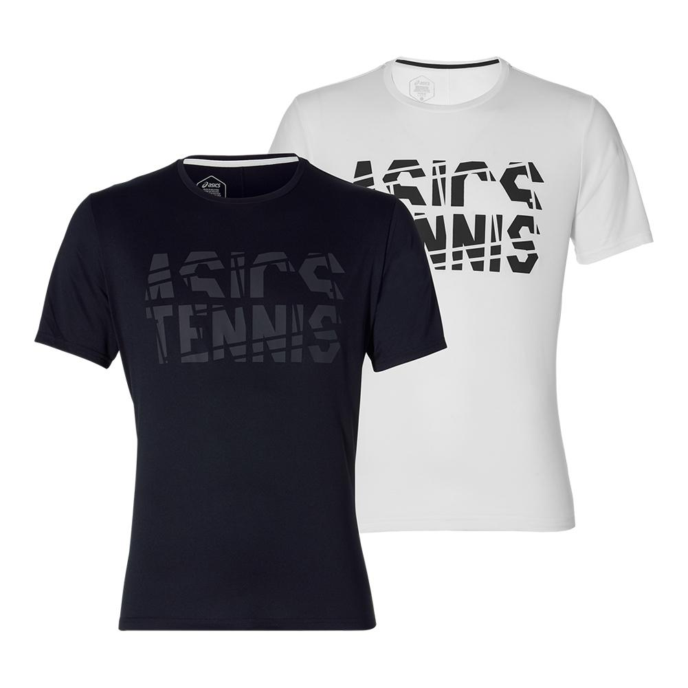 Men's Practice Short Sleeve Tennis Top