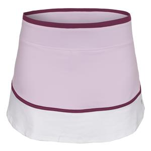 Women`s Sharp 13 Inch Tennis Skort Whimsy and White