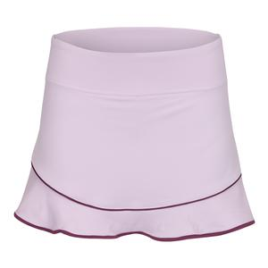Women`s Axel 13 Inch Tennis Skort Whimsy and Dewberry Trim