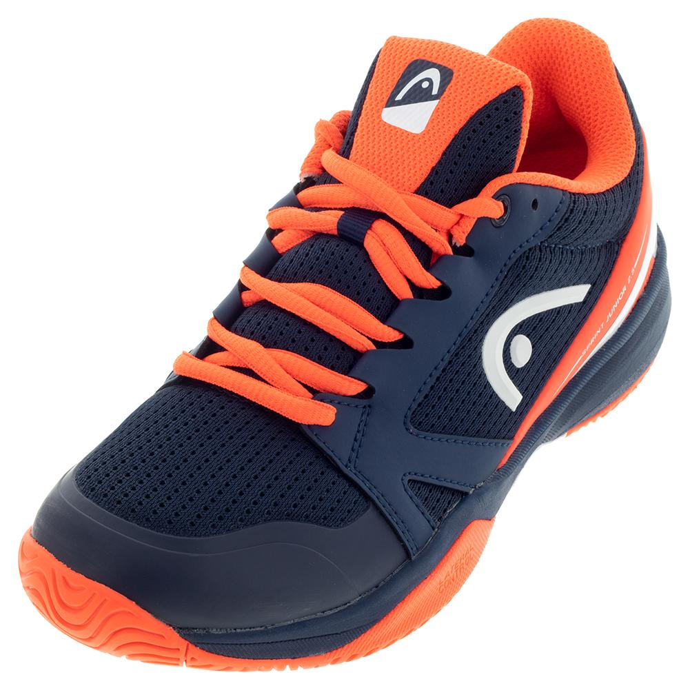Juniors'sprint 2.5 Tennis Shoes Dark Blue And Neon Red