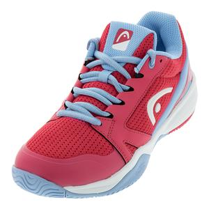 Juniors` Sprint 2.5 Tennis Shoes Magenta and Light Blue